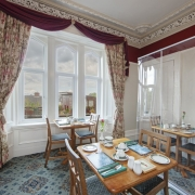 Dining area at the accommodation