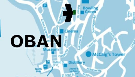 Hawthornbank B&B Map